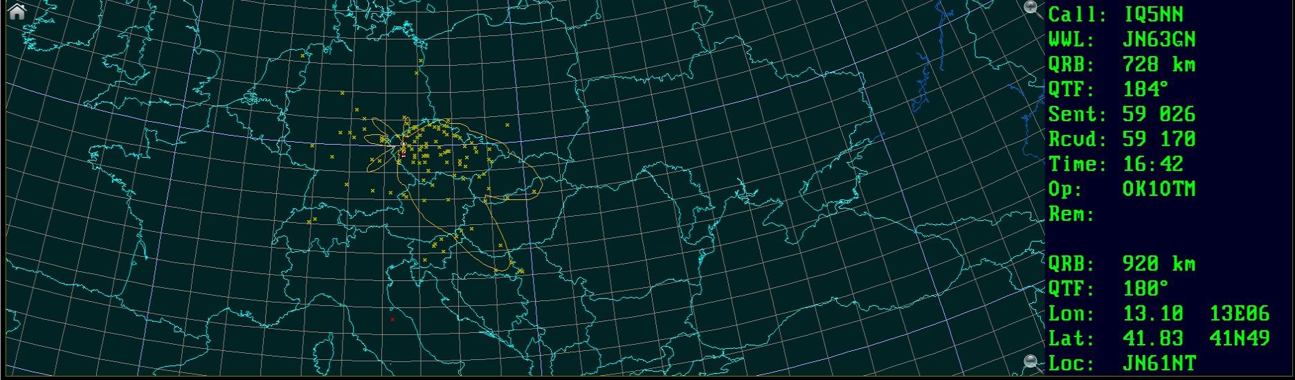 Mapa spojeni